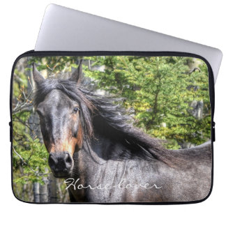 Ranch Horse Theme for Equine-lovers Computer Sleeve