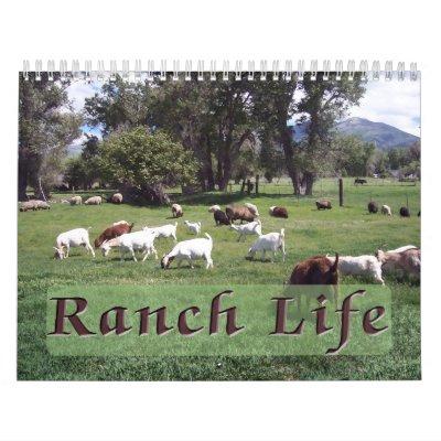 Ranch Life at the Blackman Ranch Calendars