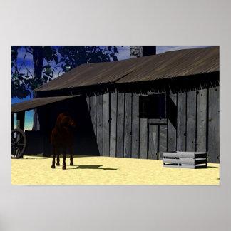 Ranch Life Poster