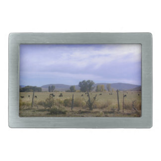 Ranch Life Rectangular Belt Buckle