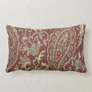 Ranch Paisley Bandana Pattern MoJo Throw Pillow