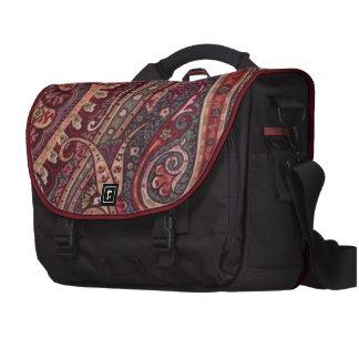 Ranch Paisley Plum Laptop Bag