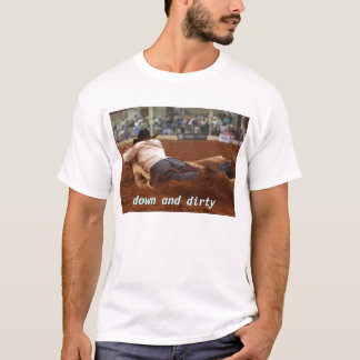Ranch Rodeo Cow Hide Race T-Shirt