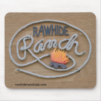 Ranch Sign Mouse Pad
