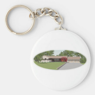 Ranch Style House: Keychain
