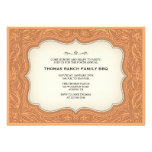 Ranch Style Light Brown Western Invitations