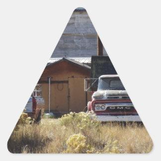 Ranch Truck Triangle Sticker