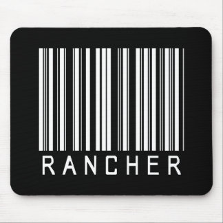 Rancher Bar Code Mouse Pad