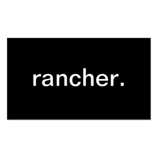 Rancher Double-Sided Standard Business Cards (Pack Of 100)