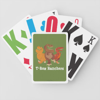 Rancher Group Graphic Bicycle Playing Cards