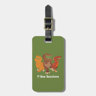 Rancher Group Graphic Luggage Tag
