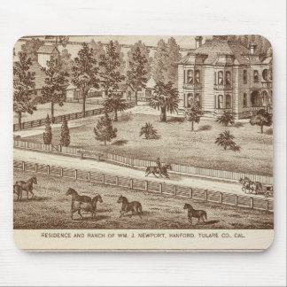 Ranches, Hanford, Cal Mouse Pad