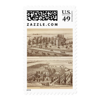 Ranches, Hanford, Cal Stamps