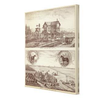 Ranches, Poplar, Cal Canvas Print