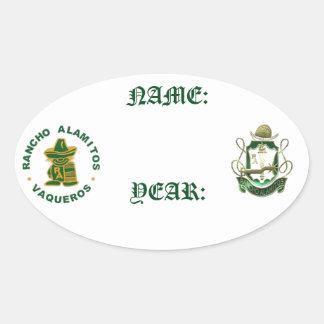 Rancho Alamitos Reunion Name Stickers