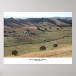 Rancho, carretera 99, California septentrional Posters