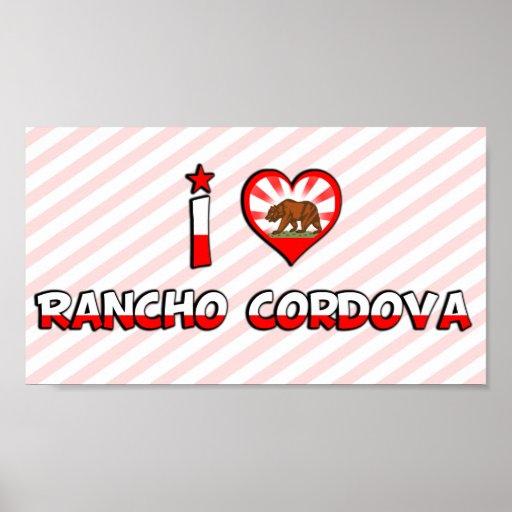 Rancho Cordova, CA Poster