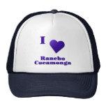 Rancho Cucamonga -- Azul de medianoche Gorras