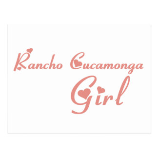 Rancho Cucamonga Girl tee shirts Post Cards