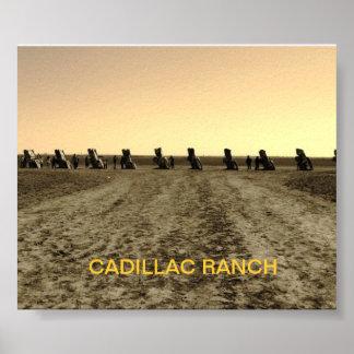 Rancho de Cadillac, Amarillo TX Póster