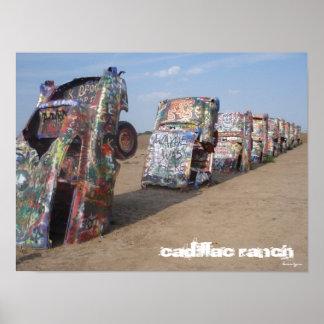 Rancho de Cadillac Póster