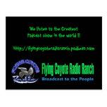 Rancho de la radio del coyote de la postal/del vue