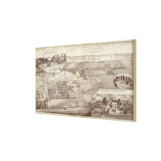 Rancho de Paige y de Morton Impresión En Lona