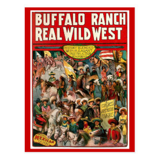 Rancho del búfalo - postal