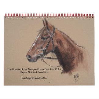 rancho del caballo 2015Morgan, calendario de PRNS