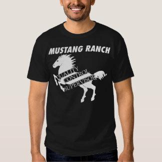 Rancho del mustango - supervisor del control de ca playeras