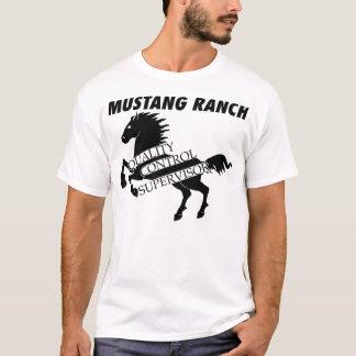 Rancho del mustango - supervisor del control de playera