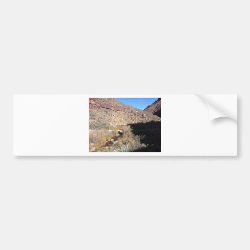 Rancho del sur del fantasma del parque nacional de pegatina de parachoque