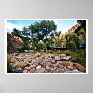 Rancho fantasma - parque nacional del Gran Cañón Impresiones