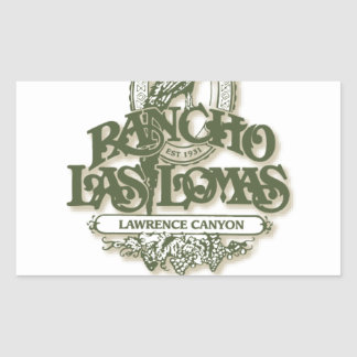 Rancho Las Lomas Wildlife Foundation Merchandise Rectangular Sticker