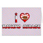 Rancho Mirage, CA Tarjeta