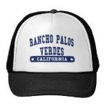 Rancho Palos Verdes California College Style tee s Trucker Hat