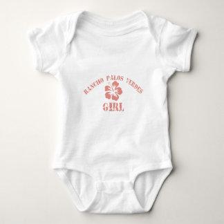 Rancho Palos Verdes Pink Girl Infant Creeper