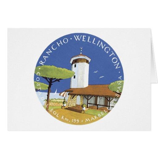 Rancho Wellington Greeting Card