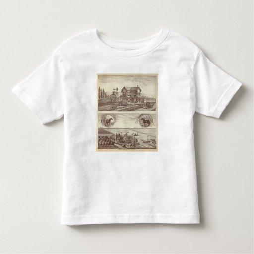 Ranchos, álamo, caloría tee shirt