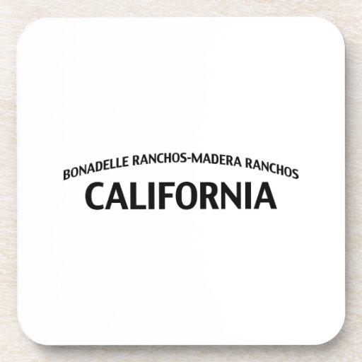 Ranchos California de Bonadelle Rancho-Madera Posavasos