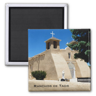 Ranchos de Taos Fridge Magnets