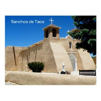Ranchos de Taos Post Card