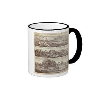 Ranchos del álamo taza de café