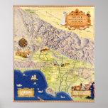 Ranchos españoles y mexicanos del mapa de Los Ánge Impresiones