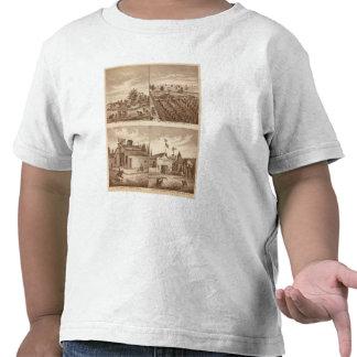 Ranchos, establos, Tulare Co, caloría Camisetas
