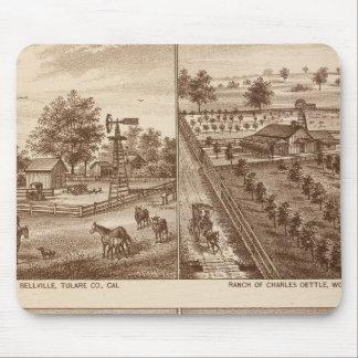 Ranchos, establos, Tulare Co, caloría Tapete De Ratones