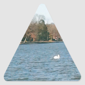 Rancio Pegatina Triangular