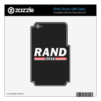 Rand 2016 (Rand Paul) iPod Touch 4G Skin