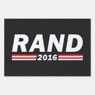 Rand 2016 (Rand Paul) Sign