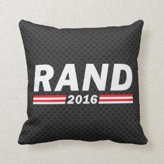 Rand 2016 (Rand Paul) Throw Pillow